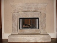 Great Style for Low Budget - Fake Stone Fireplace ...