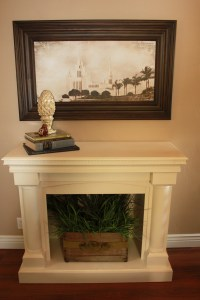 Faux Fireplace Mantel Installation | Fireplace Designs