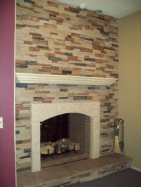 Faux Stone Fireplace Panels | Fireplace Designs