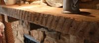 Faux Wood Fireplace Mantel   Fireplace Designs
