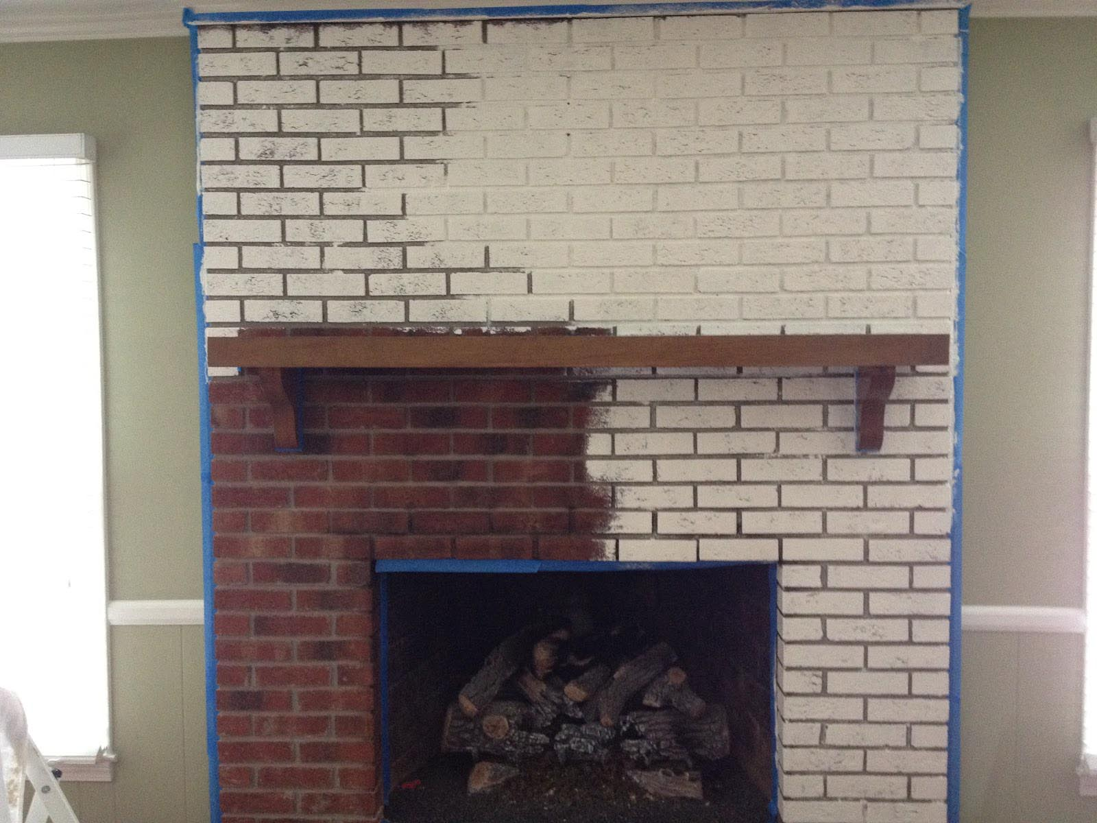 Fireplace Brick Paint Colors