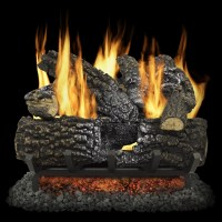 Fireplace Fake Lighted Logs | Fireplace Designs