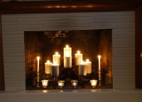 Fireplace Inserts Candle Holders | Fireplace Designs