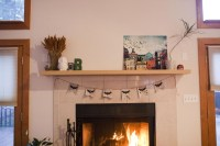 Fireplace Mantel Shelf DIY | Fireplace Designs