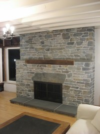 Fireplace Stacked Stone Veneer | Fireplace Designs