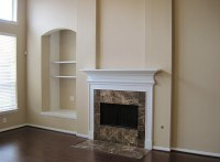 Fireplace With Granite Surround | Fireplace Designs