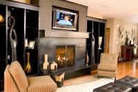 Gas Fireplace Mantels Ideas   Fireplace Designs