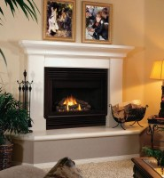Gas Fireplace Surrounds And Mantels   Fireplace Designs
