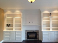 bookshelf fireplace design - 28 images - fireplace mantel ...