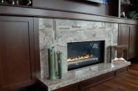 Granite Tile Fireplace Surround | Fireplace Designs