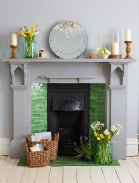 How To Decorate A Non Working Fireplace | Fireplace Designs