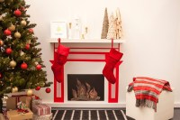 How To Make A Fake Fireplace For Christmas | Fireplace Designs