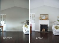 3 Steps How to Make a Fake Fireplace Yourself | Fireplace ...