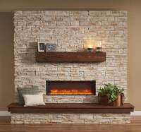 Stylish Indoor Electric Fireplace  Great Comfort ...