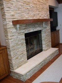 Modern Brick Fireplace Makeover | Fireplace Designs