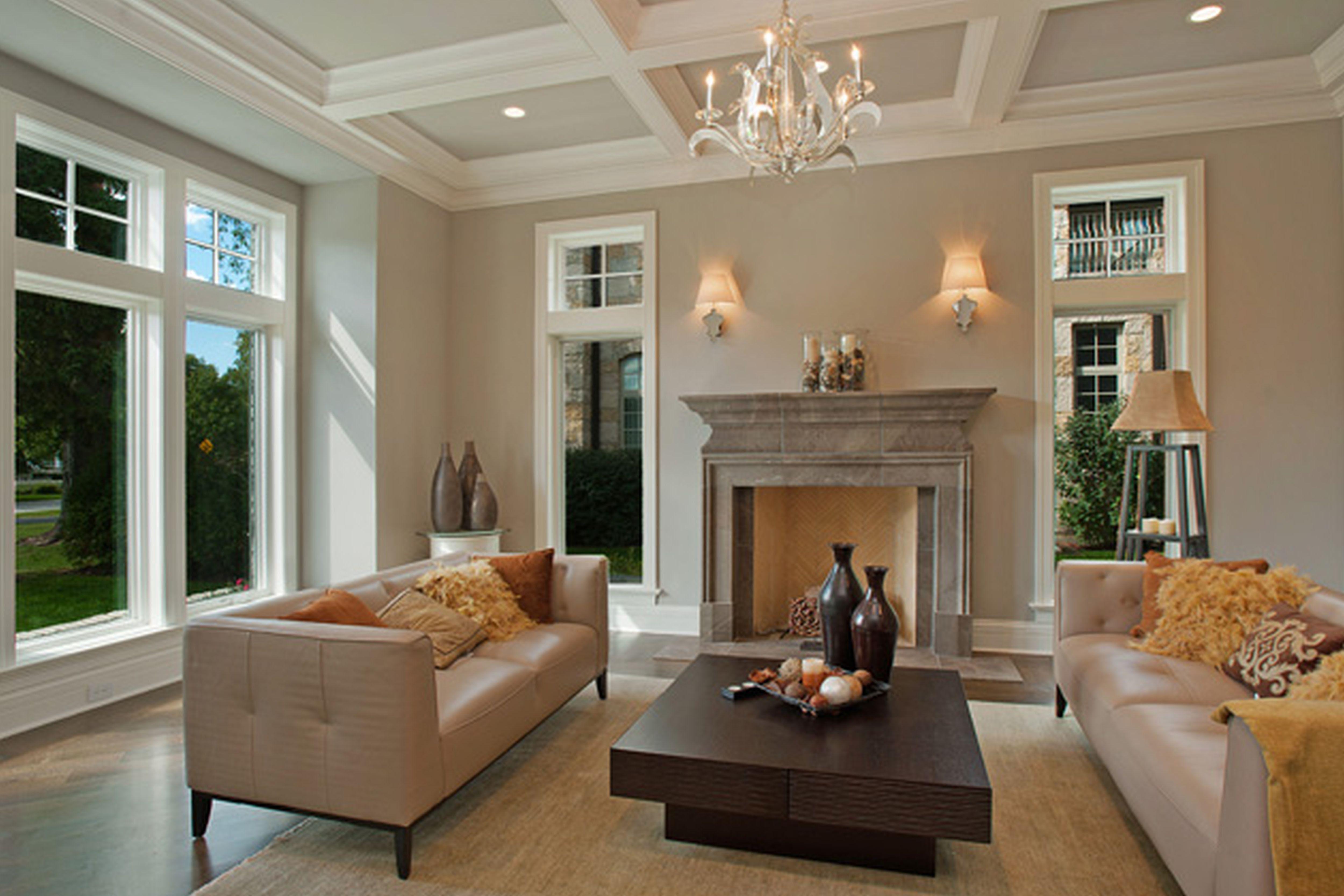 Modern Fireplace Surrounds Ideas