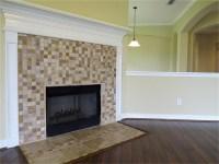 Mosaic Tile Fireplace Surround | Fireplace Designs