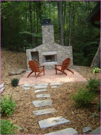 Diy Outdoor Fireplace is Perfect Idea