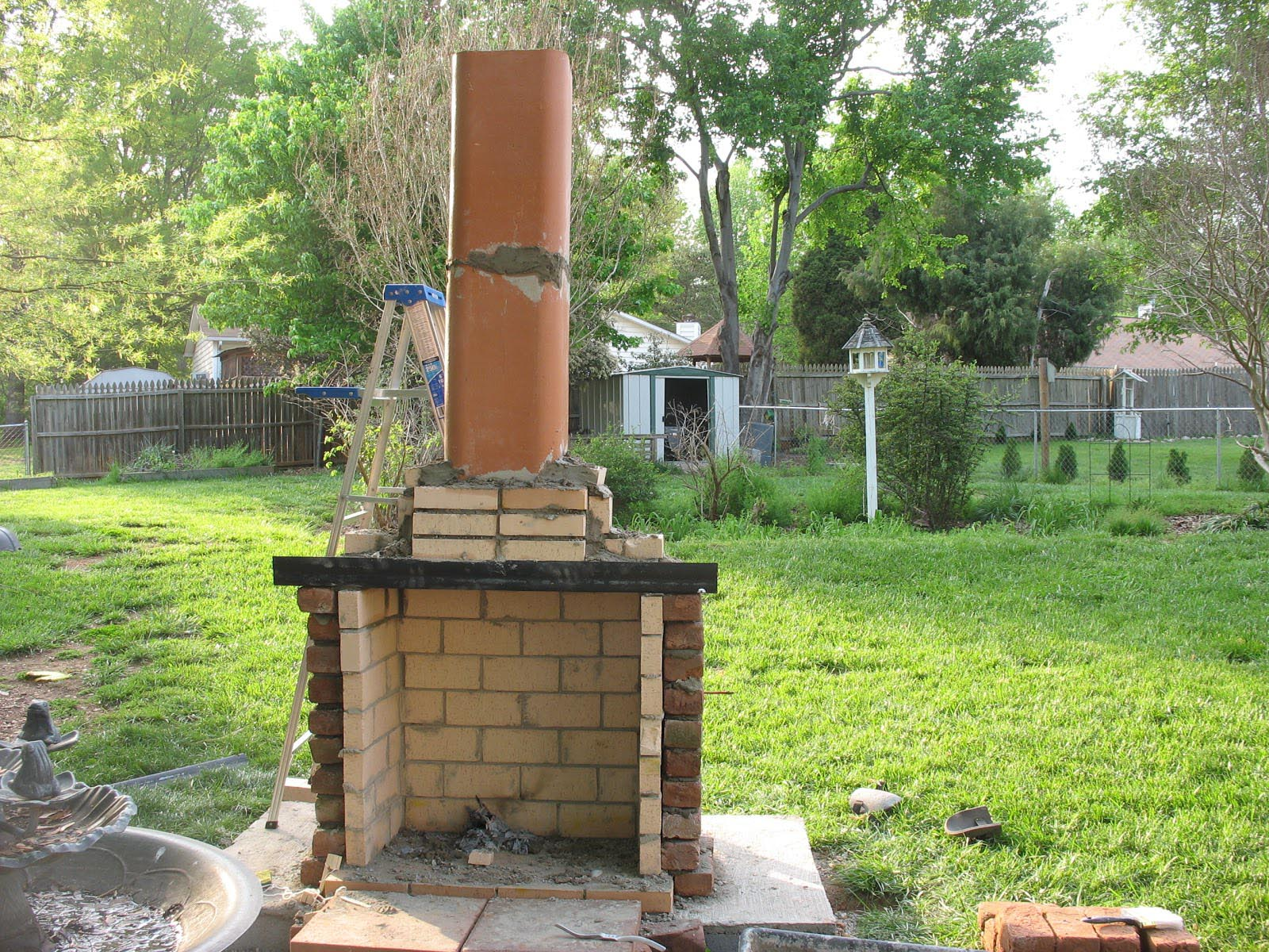 Outdoor Fireplace Plans DIY