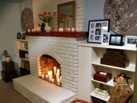 Paint Colors For Brick Fireplace | Fireplace Designs