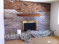 Painting Brick Fireplace Whitewash | Fireplace Designs