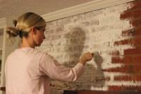 Painting Interior Brick Fireplace | Fireplace Designs