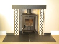 Slate Fireplace Surround Tile | Fireplace Designs