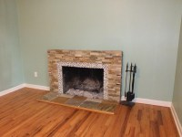 Slate Tile Fireplace Surround | Fireplace Designs
