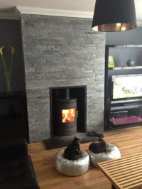 Slate Fireplace Surround: Coziness and Style in a