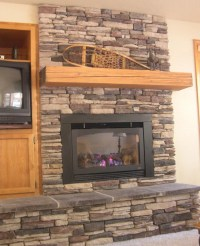 Stack Stone Fireplace Mantels | Fireplace Designs