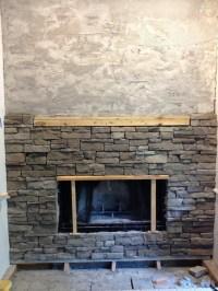Stone Veneer Around Fireplace | Fireplace Designs