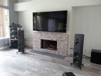 White Stone Fireplace Most Elegant | Fireplace Designs
