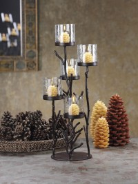Fireplace Candle Holder. Wrought Iron Candle Holders For ...