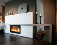 2 Sided Gas Fireplace | FIREPLACE DESIGN IDEAS