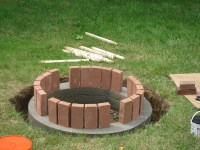 Some Brilliant Brick Fire Pit Ideas for Your Home