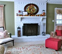 Brick Fireplace Makeover Pictures | FIREPLACE DESIGN IDEAS