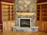 Corner Fireplace Mantels Pictures | FIREPLACE DESIGN IDEAS