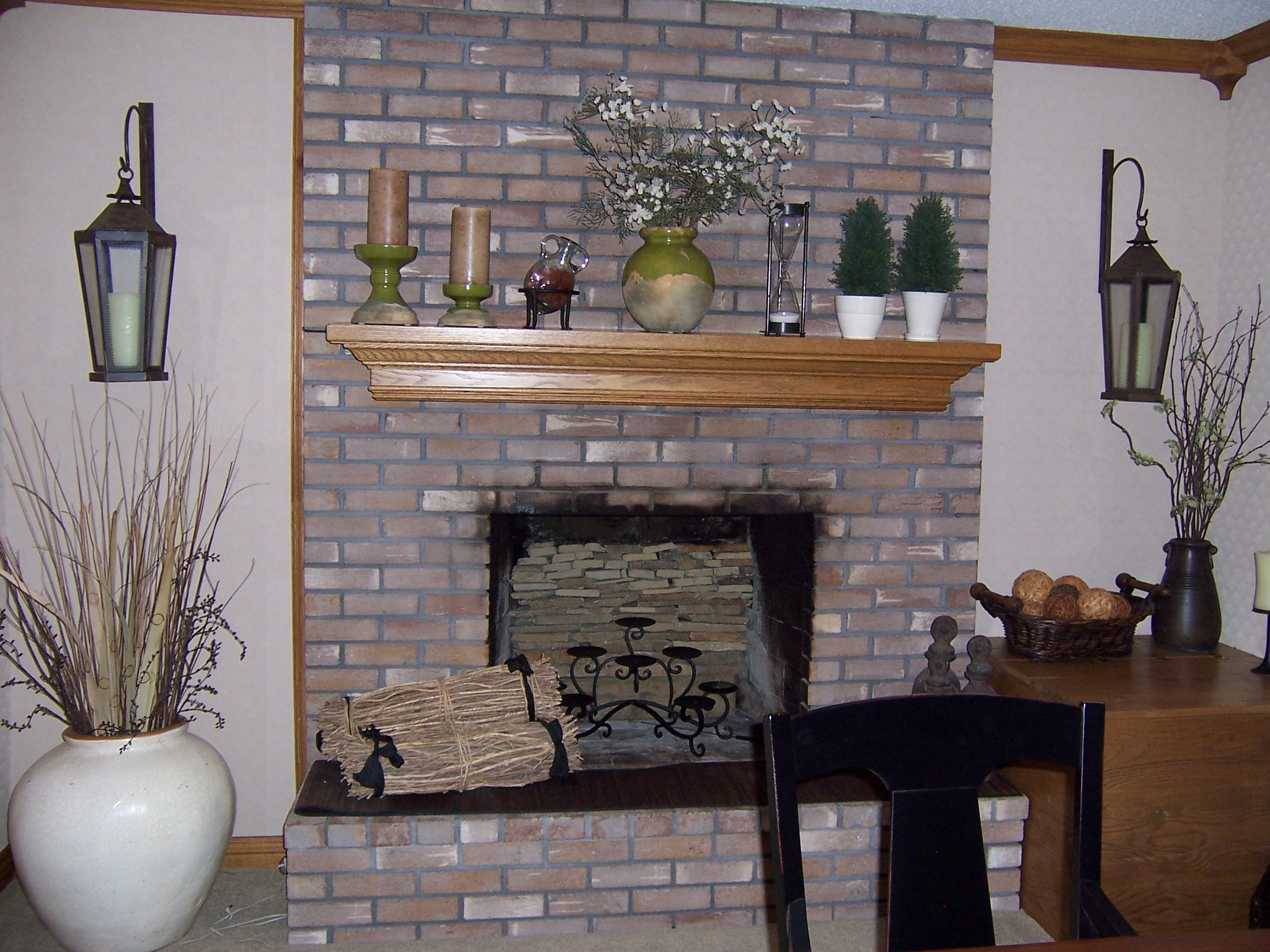 Is Painted Fireplace Brick Good For Landlords Now And Then