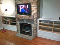 DIY Fireplace Mantel | FIREPLACE DESIGN IDEAS