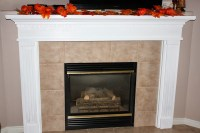 diy fireplace mantel shelf her tool belt. diy fireplace