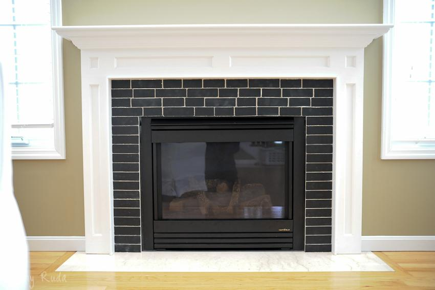 DIY Fireplace Surround