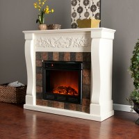 DIY Mantel For Electric Fireplace