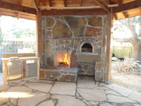 Outdoor Fireplace Plans With Pizza Oven