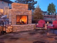 Decorate Your Garden with a DIY Outdoor Fireplace ...