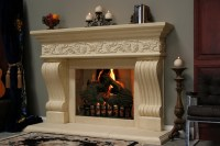 Fake Fireplace Mantel Kits | FIREPLACE DESIGN IDEAS