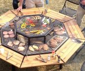 fire pit you can cook on