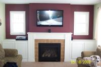 Gas Fireplace Mantels With TV Above | FIREPLACE DESIGN IDEAS