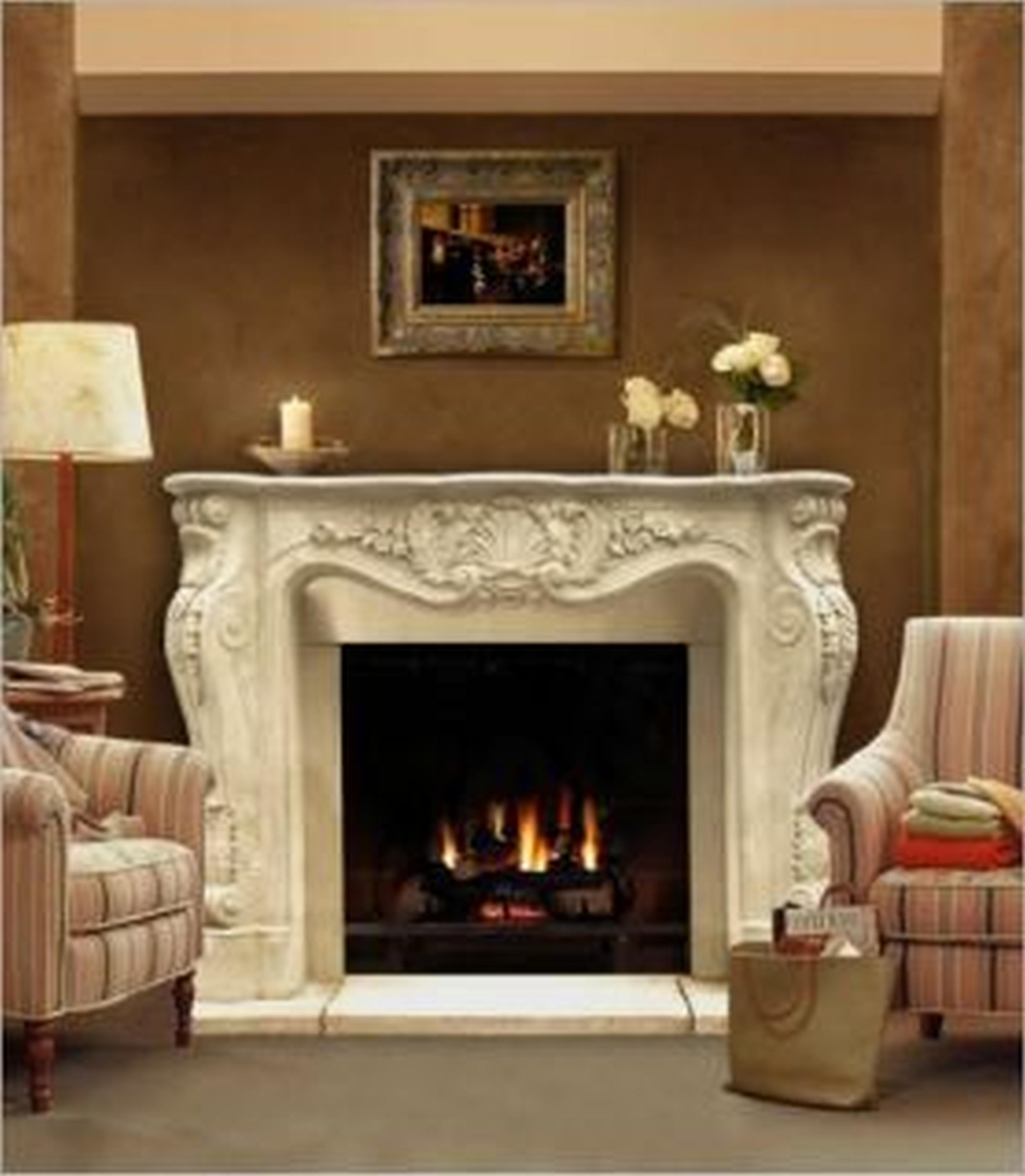 How To Clean Limestone Fireplace Surround  FIREPLACE
