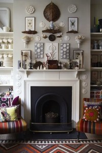 How To Decorate Above A Fireplace | FIREPLACE DESIGN IDEAS