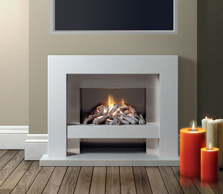 Different kinds of Modern fireplace surrounds